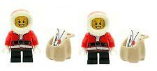 LEGO 2 Christmas Elves Elfs with Sacks & Letters Santa's Helpers NEW