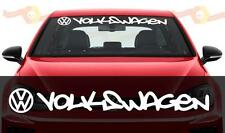 most wanted style vinyl Windshield Decal sticker fit to VW Golf GTI