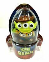 "DISNEY PIXAR REMIX Toy Story ALIEN  - WOODY 3"" NEW RARE #06 Sheriff Mattel"