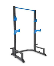 Power Cage Deluxe Rack Gym Dip Bar Strength squat Fitness  Pull Up Core Muscle