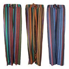 Ladies Palazzo Wide Leg Harem Trouser Pant Summer Beach Loose Baggy New SoftM028