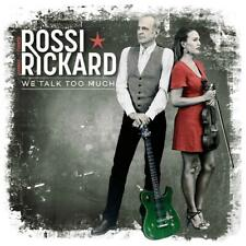 Francis Rossi & Hannah Rickard We Talk Too Much CD Album Released 15/03/2019