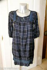 jolie robe tunique en coton viscose LA FEE MARABOUTÉE taille 40