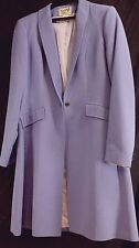 Reed Hill Saddleseat Day Coat LILAC / LIGHT PURPLE Poly Linen Weave size 14 USA