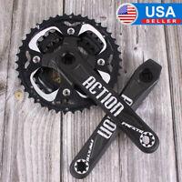 104/64BCD 170 24/32/42t Crankset MTB Bike Chainring Crank Sprocket Aluminum CNC