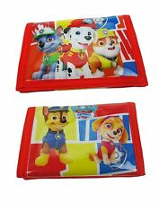 NEW OFFICIAL Paw Patrol Boys Girls Character Wallet/Purse Chase Skye Free P&P