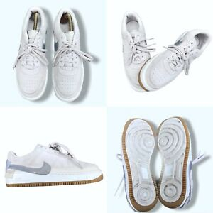 Nike Air Force 1 Jester XX Ladies Trainers Desert Sand Platinum, UK Size 7 VGC