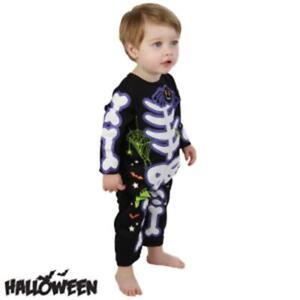 Toddler  Skeleton Costume Halloween Costume Outfit Creepy Girls Kids 1-4Years