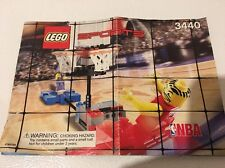 2003 Lego 3440 Instructions Only - Lego Sports Basketball Manual