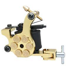 Gold Bullet Cámara Profesional Tatuaje Máquina Para Fuente De Alimentación Pistola Clip Cord