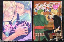JAPAN One Piece Yaoi doujinshi manga: Zeal & Sweet 21 vol.1~2 Complete Set