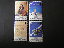BRITISH ANTARCTIC TERRITORY, SCOTT # 129-132(4) 1986 HALEY'S COMET ISSUE MNH