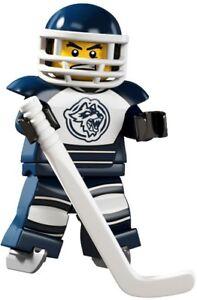 LEGO Minifig series 4 #8 Ice Hockey Player city 8804 new