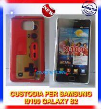 Custodia+Pellicola BACK COVER CONTROLLER per Samsung I9100 galaxy s2 plus I9105