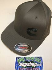 Cummins hat ball cap fitted flex fit flexfit stretch cummings dark gray grey l/x