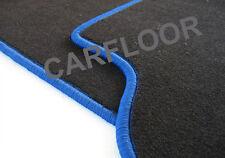 Für Land Rover Freelander 2 Fußmatten Velours schwarz Deluxe Rand königsblau