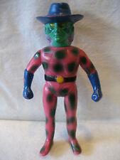 "BANDAI vintage GEKKOKAMEN villain 9"" vinyl toy Japanese sofubi figure Moon Mask"