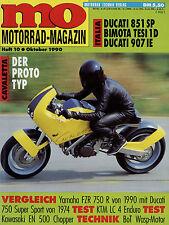 mo 10/90 1990 Bimota Tesi 1D Ducati 750SS 851 S.P 907 I.E KTM LC4 EN500 RGB Wasp