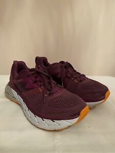 Hoka One One Gaviota 2 Womens UK8 [Grape Juice/Bright Marigold]