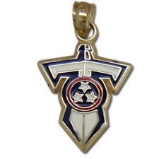 kt Gold Pendant Tennessee Titans 14