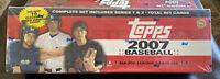 2007 Topps Baseball Hobby Factory Set Sealed Complete 661 Card Box Set