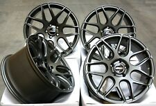"""ALLOY WHEELS X 4 18"""" CRUIZE CR1 MGM STAGGERED DEEP CONCAVE 5X114 18 INCH ALLOYS"""