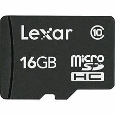 16GB Lexar High-Performance microSDHC 100x UHS-I/U1 Flash Memory Card