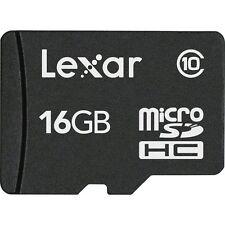 16GB Lexar High-Performance microSDHC 100x UHS-I/U1 Flash Memory Card