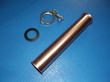 "1 ft 2"" Copper Extension Beer Keg Moonshine Still Head with tri clamp and gasket"