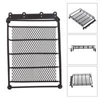 Universal Black Steel Cargo Carrier Roof Luggage Rack Basket Cross Bar Car/ SUV