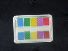 Dot Pattern translucent 5 colors Sticky Notes, Post-it, Adhesive tape