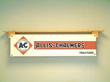 ALLIS Chalmers Trattore BANNER PVC Stile Vintage segno per Workshop garage rimessa