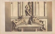 Luz-presión 1894: tumba del Lorenzo de Medici. de Miguel Ángel.