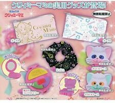 Bandai Creamy Mami Capsule Goods Set di 6 Fermacapelli, Specchio, 2 Pochette, 2 Mini-Box - Multicolore