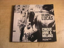 ULIANO LUCAS CINQUE ANNI A MILANO 1973 PHOTOBOOK PARR BADGER CONTESTAZIONE
