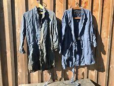Lots de deux anciennes blouses de travail, tachées est usées , MOLINEL