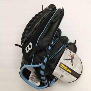 Wilson Flash Series Ages 8 to 12 Catchers Glove EZ Squeeze Design Adjustable