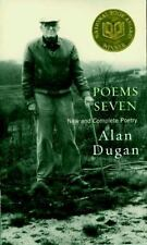Poems Seven : New and Complete Poetry by Alan Dugan (2001, Hardcover)