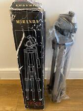 Miranda Titan 606 Tripod, 3-Way Pan and Tilt Quick Release Head Plate