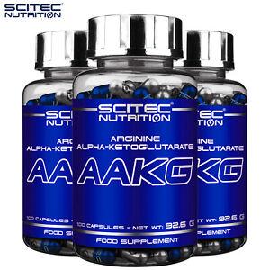 AAKG L-Arginine Supplement - Nitric Oxide NO Booster Super Pump Muscle Growth