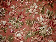 Mill Creek Raymond Waites EMERSON Floral MANGO Cotton Jacquard Drapery Fabric