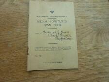 More details for 1926 original general strike wiltshire constabulary special constable handbook