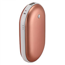 Rose Gold 5200Mah Portable USB Charger Pocket Electric Hand Warmer Rechargeable