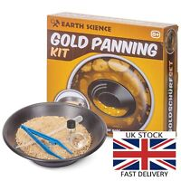 Kids Gold Panning Kit (not your typical) Contains REAL GOLD! FREE Next Day Deliv