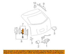 Cadillac GM OEM 10-15 SRX Liftgate Tail Tailgate Trunk-Pump 25965861