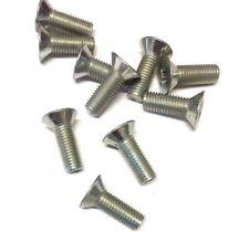 CLASSIC MINI DOOR HINGE/STRIKER PLATE SCREWS SF604061 x10 AUSTIN MORRIS MK3> 5D3