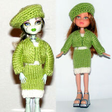 Buy 2, Free Shipping, Clothes for Bratz Doll, Hat, Dress, Sweater