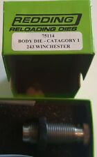 75114 Redding Body Sizing Die - 243 Winchester - New In Box - Free Shipping