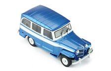 Willys Jeep Station Wagon - 1960-azul blanco - 1:43 Ixo CLC 261