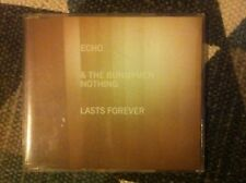 Echo & the Bunnymen ~ Nothing Lasts Forever ~ rare 1 track promo cd
